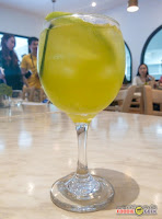 green sangria, Yummy All-Day Brunch Meals at Little Owl Cafe