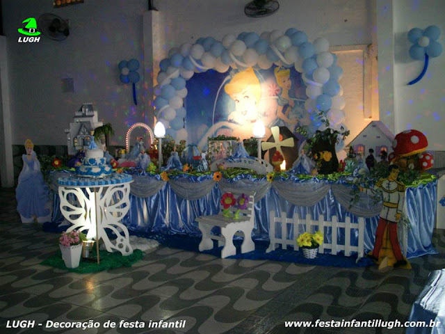 Decoração infantil Cinderela - Tradicional Super Luxo