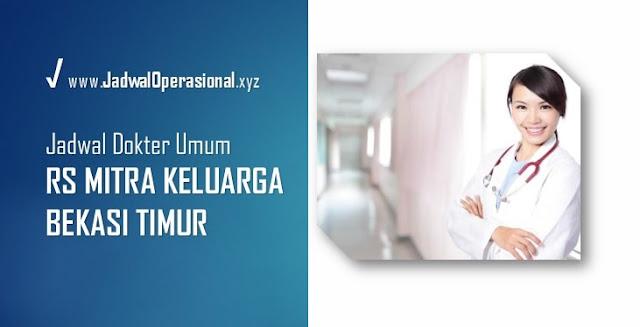 Jadwal Dokter Umum RS Mitra Keluarga Bekasi Timur