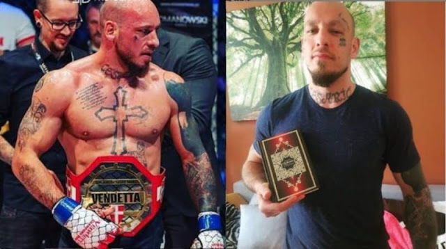 The famous Austrian Boxer Willham Ott has converted to Islam