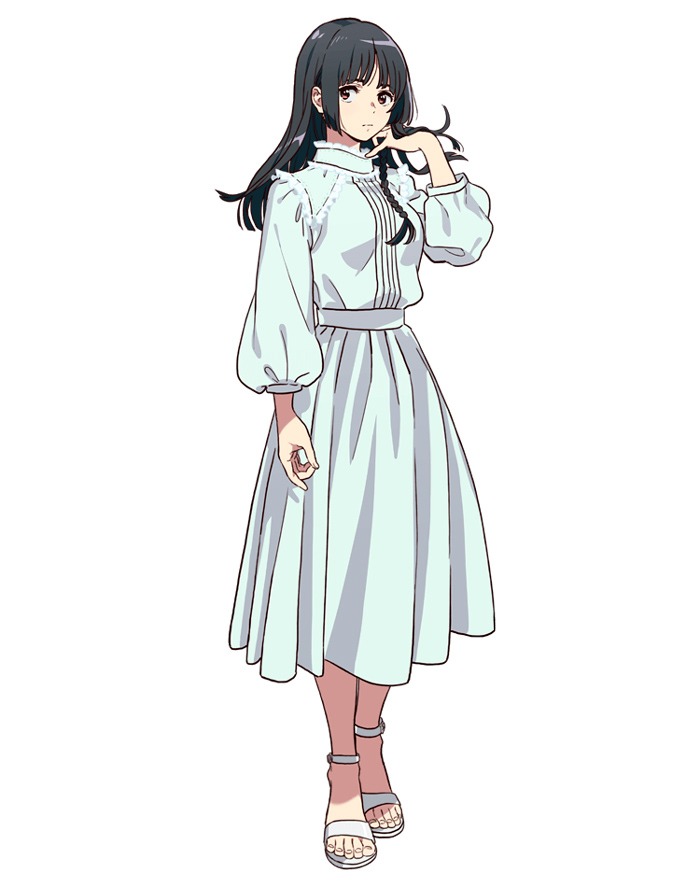 Un extraño a la orilla del mar (Umibe no Étranger) anime - Sakurako