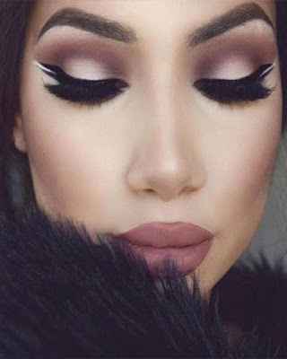 winter makeup fashionable