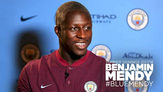 Manchester City sign Benjamin Mendy