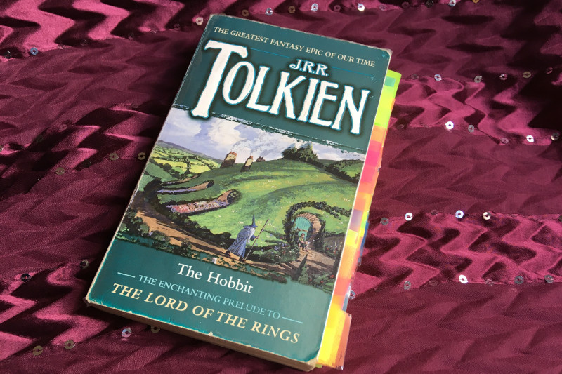 The Hobbit Paperback book | Lydia Sanders #TwistyMustacheReviews