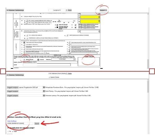 cara mengisi form spt 1770 pernyataan