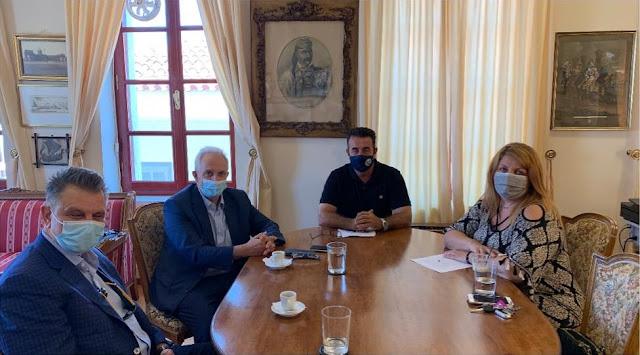 Συναντήσεις του Δημάρχου Ναυπλιέων για την αξιοποίηση του πρώτου Φαρμακείου της Ελλάδας