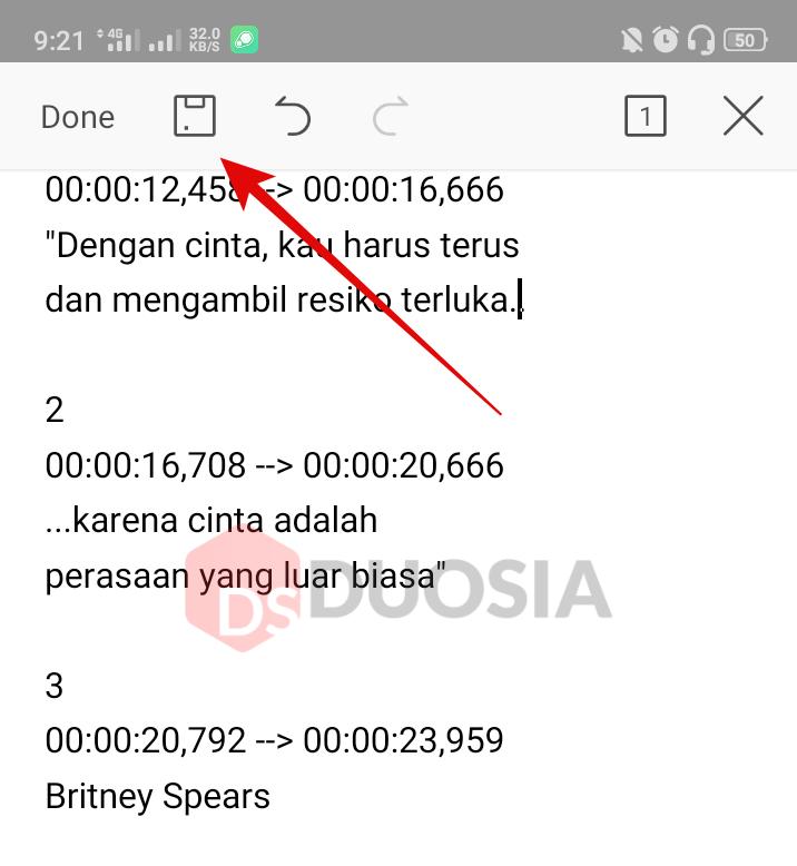 aplikasi untuk mengedit subtitle di android
