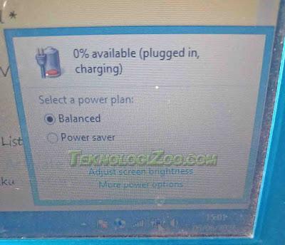 cara mengatasi baterai laptop tidak mengisi