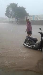 Chuva de mais de duas horas registra maior volume dos últimos 5 anos em Nova Palmeira
