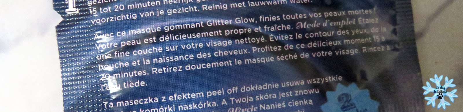 Glitter Glow Peel Off Masker - Dr Van Der Hoog