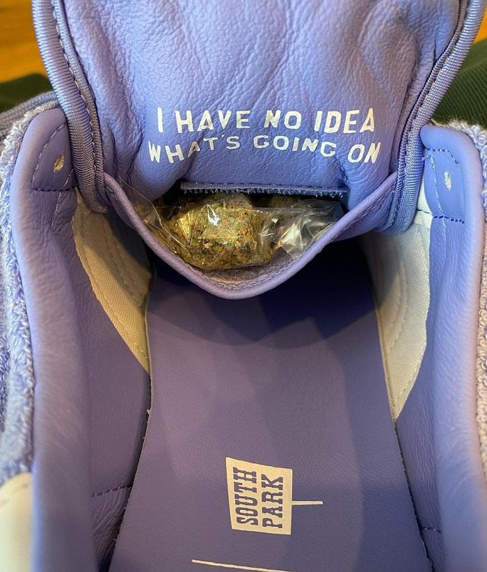 Towelie Sneakers Secret Stash for weed