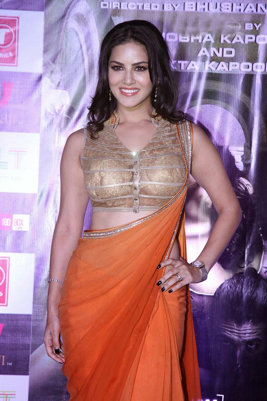 Bollywood Hot Sunny Leone At Ragini Mms 2 Success Press