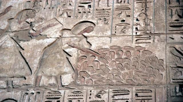 Τα μυστηριώδη χέρια στην Αίγυπτο 3600 χρόνων - Βίντεο