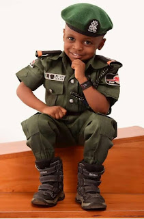 Little Boy Stuns In His Mobile Police Themed Birthday Photos