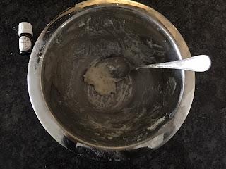 Réalisation de la pâte pour la fabrication du shampong solide tout doux de la box formule beauté de novembre 2019