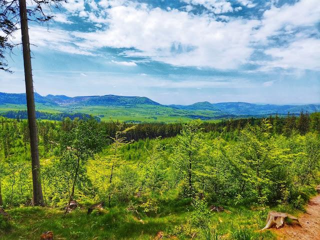 góry Wałbrzycha, wycieczka w okolice rejonu