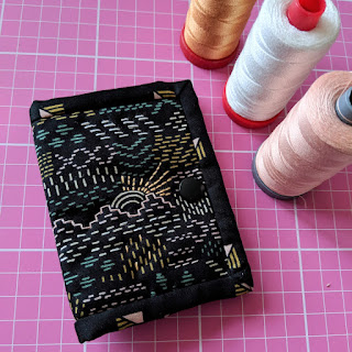 Little Quilt needle case, needle book by Charm About You