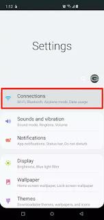 Configuración de conexiones de Android