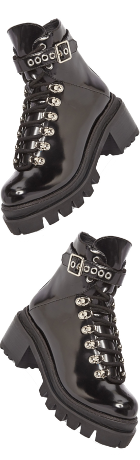 JEFFREY CAMPBELL Czech Lace-Up Boot