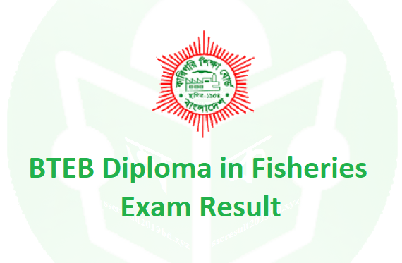 Polytechnic Diploma in Fisheries Result 2019, BTEB Diploma in Fisheries Result 2019, Diploma in Fisheries Result 2019, Diploma in Fisheries Exam Result 2019, Diploma in Fisheries Semester Final Result 2019,