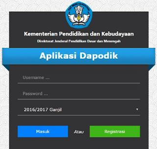 Download Dapodik 2017