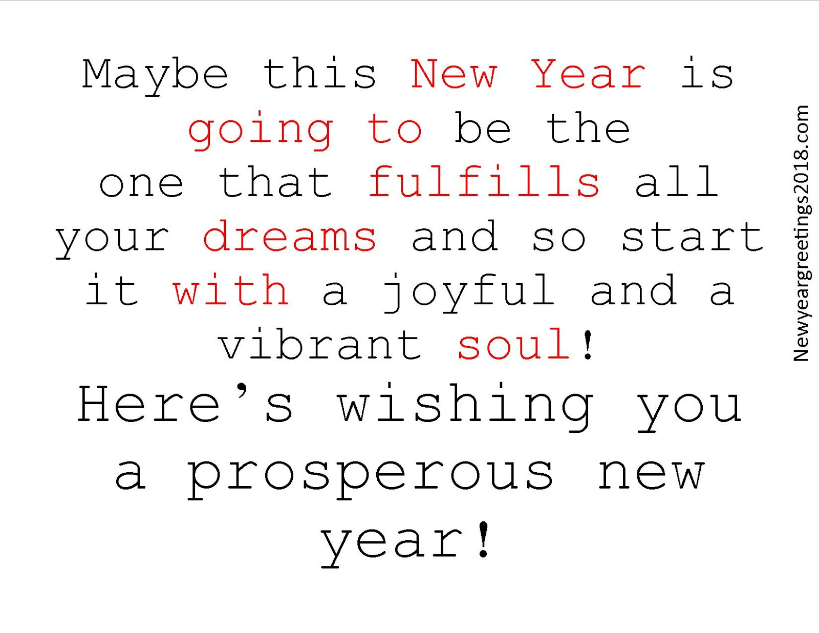 Happy New Year Wishing Image Quote