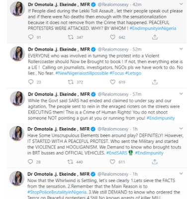 #EndSARS: Speak up if anyone you know was killed at lekki toll gate – Omotola Jalade-Ekeinde