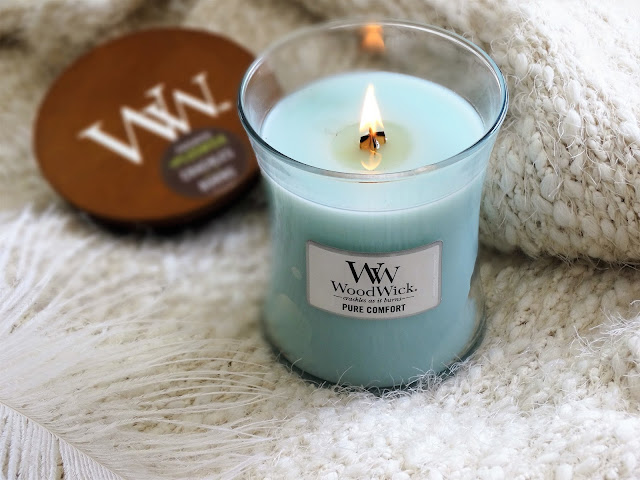 avis pure comfort woodwick candle blog bougie cocooning