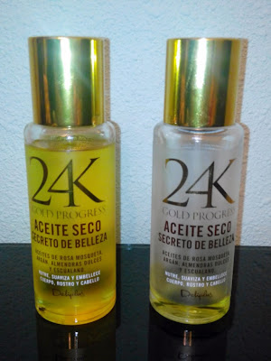Aceite seco 24k Gold Progress Deliplus