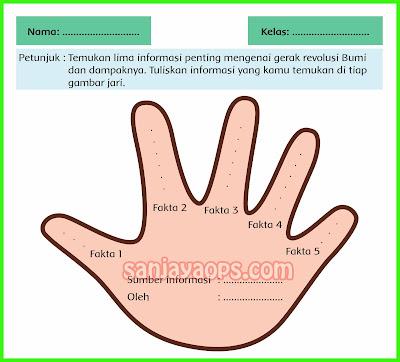five finger facts tema 8 kelas 6 halaman 45