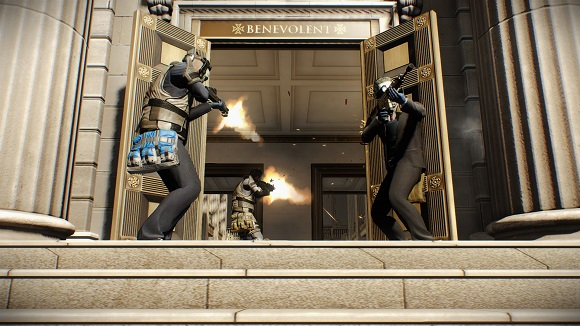 Put a crew together for the second entry in the thrilling heist shooter PayDay PAYDAY 2 Border Crossing Heist-PLAZA