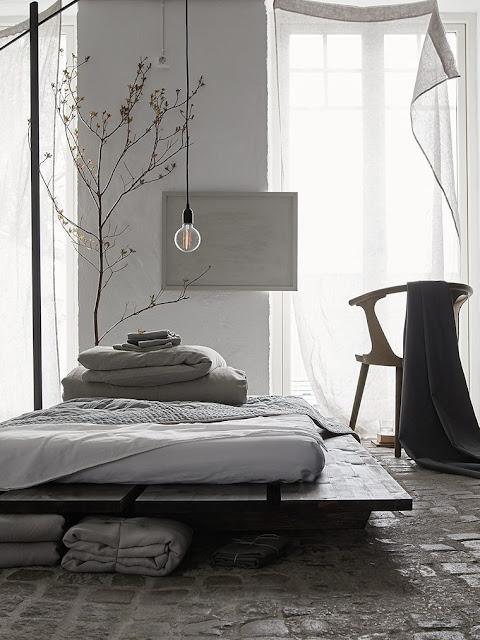 Suède / Le linge de maison Himla vu par Daniella Witte /