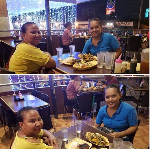 dinner with my friend