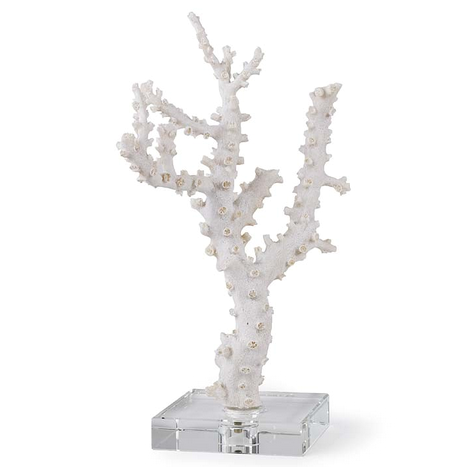 white coral on stand