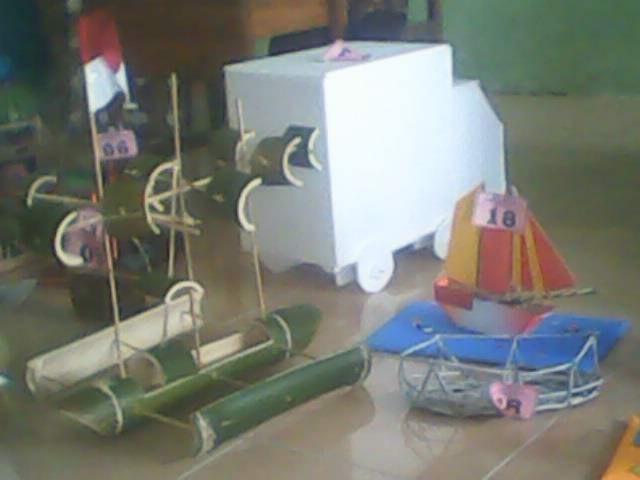 kerajinan dari barang bekas untuk anak sekolah 5