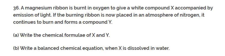 CH-1 Class 10th NCERT Exemplar Question Answer classXscience Q36.