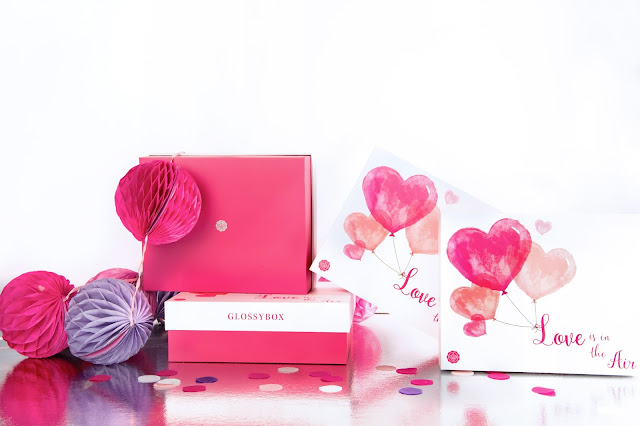 "GLOSSYBOX x ATOMLABOR verlosen eine ""Love is in the Air"" Valentine's Edition Box. Beauty Box"