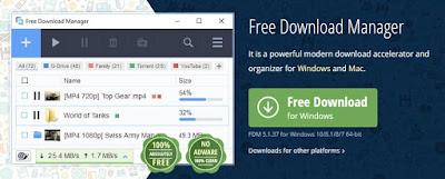 برنامج-تحميل-فيديو-من-اي-موقع-Free-Download-Manager