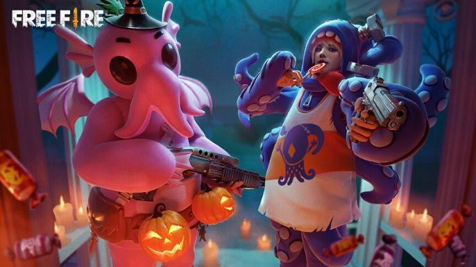 Mais uma opção de wallpaper com skins de Halloween