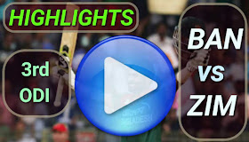 BAN vs ZIM 3rd ODI 2020