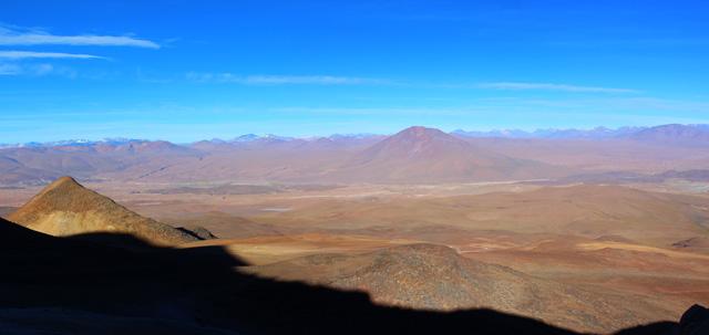 El paisaje que rodea al volcán Uturuncu