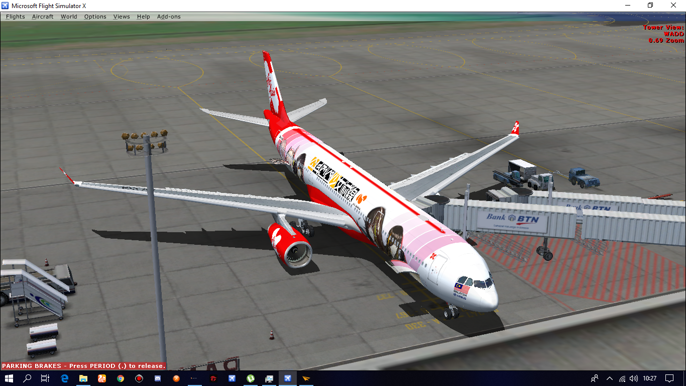 CLS A330-300 AirAsia X 9M-XXB (Girl Frontline Livery