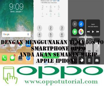 Tema iOS 10 Oppo