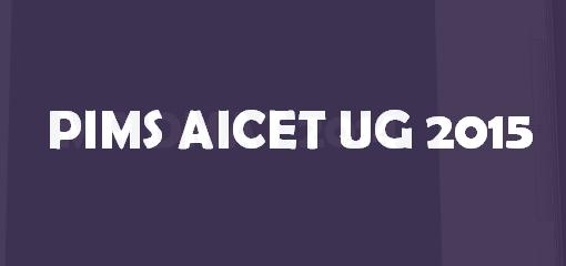 PIMS AICET UG 2017 Logo