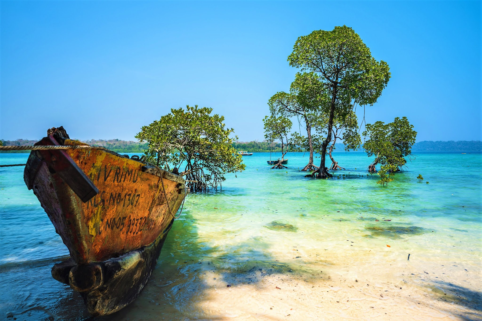 ANDAMAN ISLANDS: THE BARREN ISLANDS
