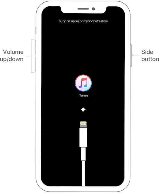 Masuk Recovery Mode iPhone X, iPhone 8, atau iPhone 8 Plus
