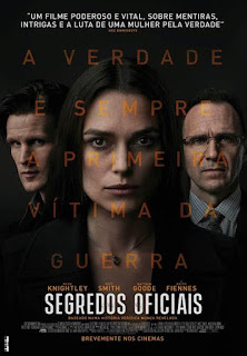 Segredos Oficiais - Poster & Trailer