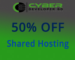 50% Discount on Shared Hosting