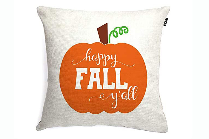 Happy Fall, Y'all Pillow