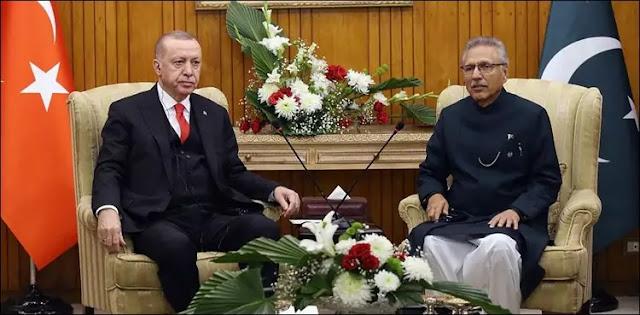 Turkey will continue to support Pakistan's position on Kashmir: Erdogan calls President of Pakistan